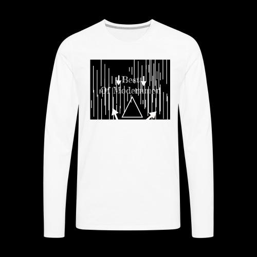 Bestofmodernmen - Maglietta Premium a manica lunga da uomo