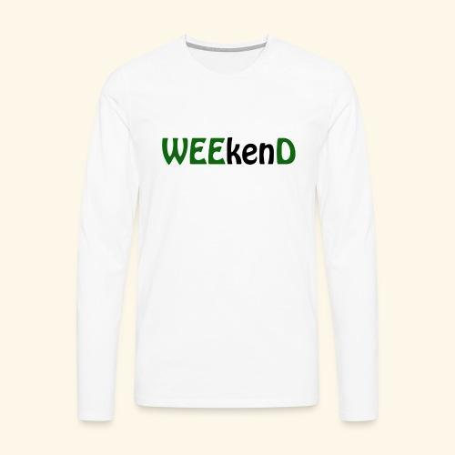 weed - Männer Premium Langarmshirt
