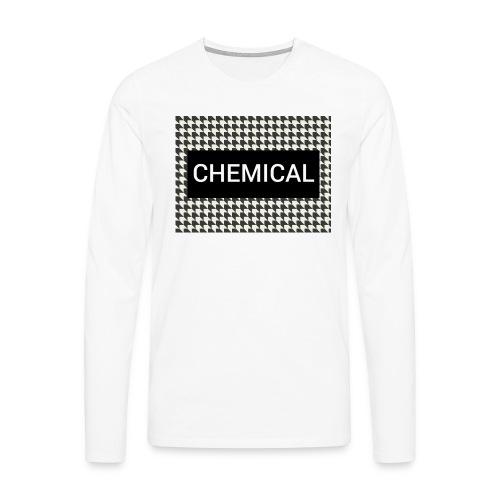 CHEMICAL - Maglietta Premium a manica lunga da uomo