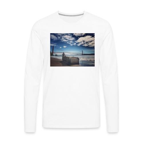 poncio - Camiseta de manga larga premium hombre