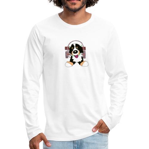 Bernerdrag - Långärmad premium-T-shirt herr