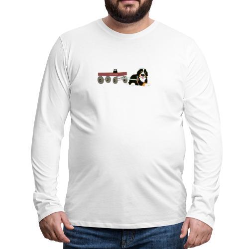 bernerdrag hona - Långärmad premium-T-shirt herr
