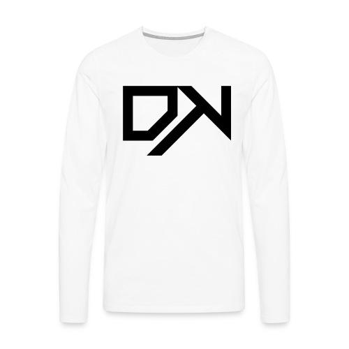 DewKee Logo Cap Black - Men's Premium Longsleeve Shirt