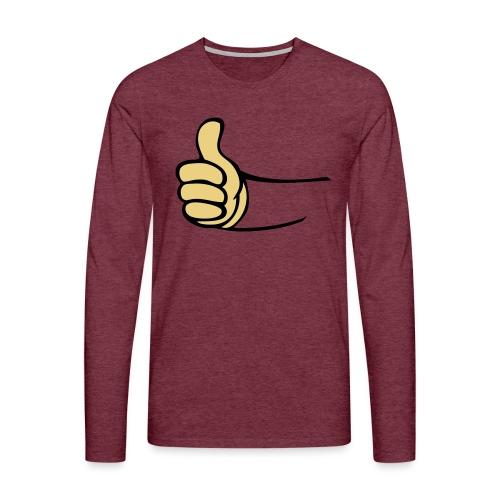 Vault - Mannen Premium shirt met lange mouwen