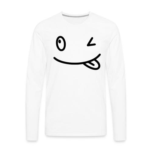 Smiley shirt - Maglietta Premium a manica lunga da uomo