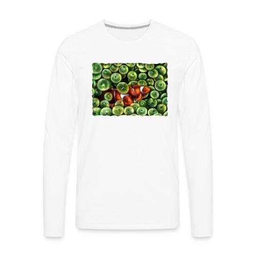 Pesci Pagliaccio - Maglietta Premium a manica lunga da uomo