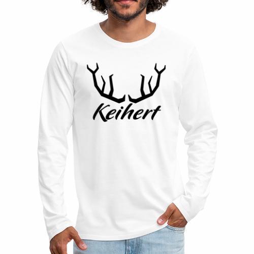 Keihert gaan - Mannen Premium shirt met lange mouwen