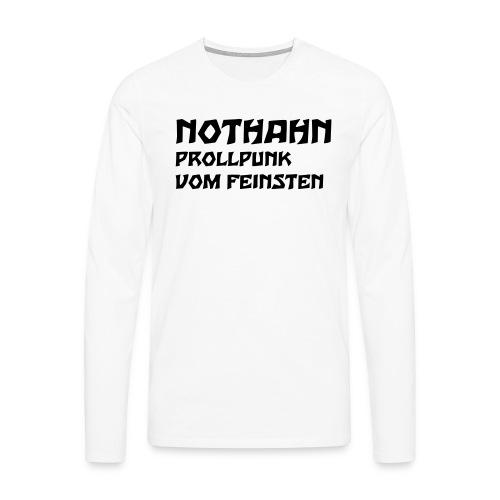 vorne - Männer Premium Langarmshirt