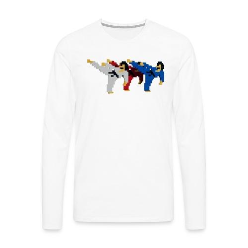 8 bit trip ninjas 2 - Men's Premium Longsleeve Shirt