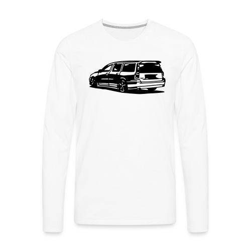 volvo_v70iis - Männer Premium Langarmshirt