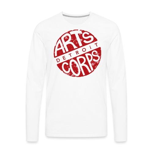 Art Corps Detroit - T-shirt manches longues Premium Homme