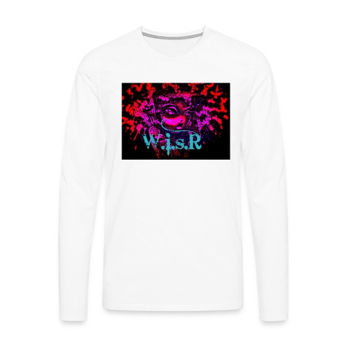 WisR Naisten T- Paita - Miesten premium pitkähihainen t-paita