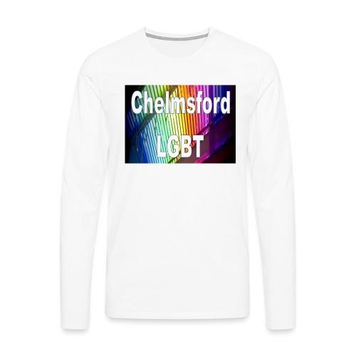 Chelmsford LGBT - Men's Premium Longsleeve Shirt