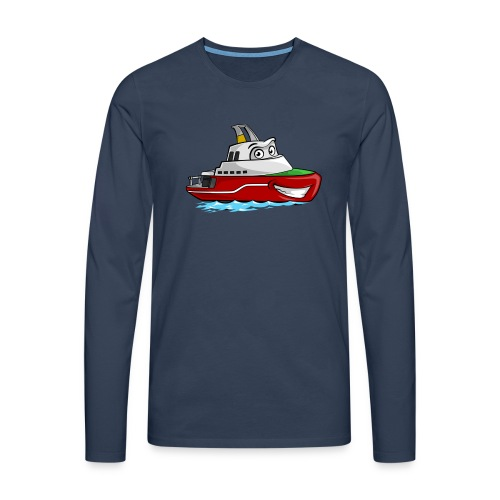Boaty McBoatface - Men's Premium Longsleeve Shirt