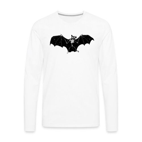 Bat skeleton #1 - Men's Premium Longsleeve Shirt