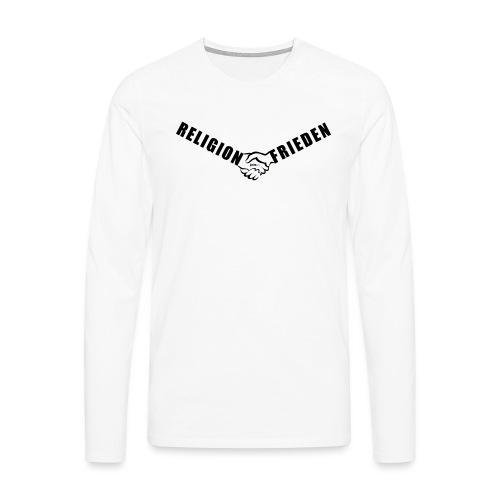 46_Handschlag_01 - Männer Premium Langarmshirt