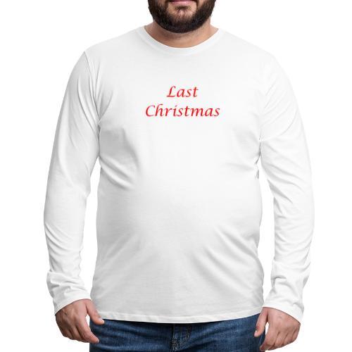 Las Christmas - Männer Premium Langarmshirt