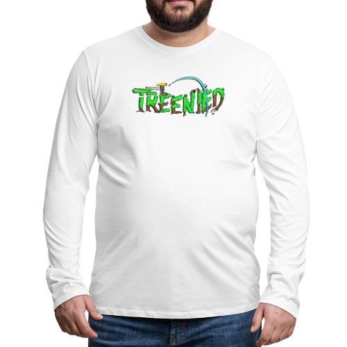 Treenied - Långärmad premium-T-shirt herr