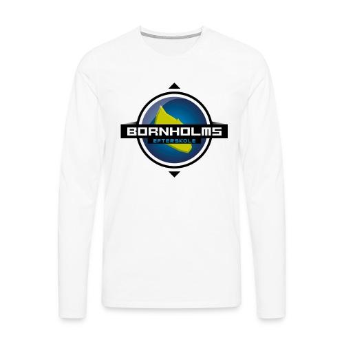 BORNHOLMS_EFTERSKOLE - Herre premium T-shirt med lange ærmer