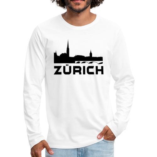 Zürich - Männer Premium Langarmshirt