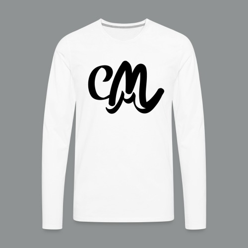Mannen Shirt (voorkant) - Mannen Premium shirt met lange mouwen