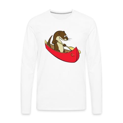 redcanoewithsticker - Men's Premium Longsleeve Shirt