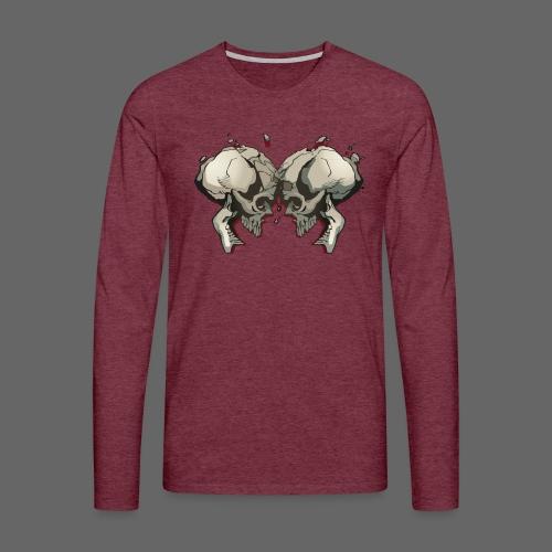 MHF_Logo_Loose-Skulls - Men's Premium Longsleeve Shirt
