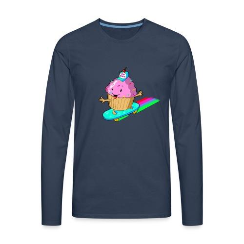 cupskate - T-shirt manches longues Premium Homme