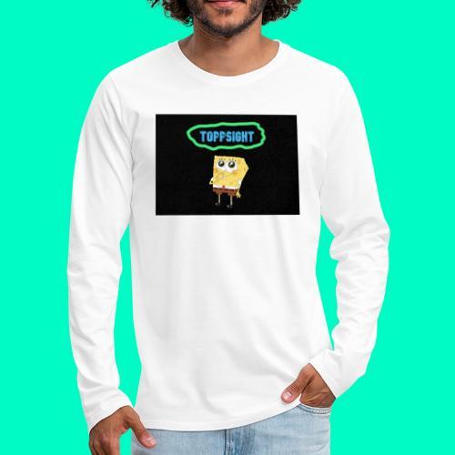 Topsight - Långärmad premium-T-shirt herr