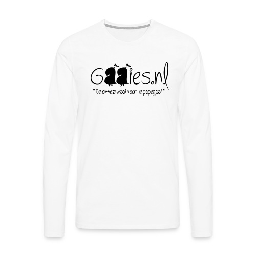 gaaies - Mannen Premium shirt met lange mouwen