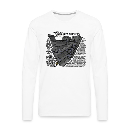 Jacobs Slott - Långärmad premium-T-shirt herr