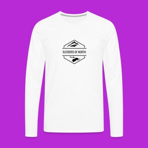 SoN Snapback - Men's Premium Longsleeve Shirt