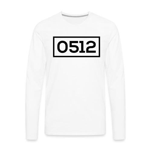 0512 - Mannen Premium shirt met lange mouwen