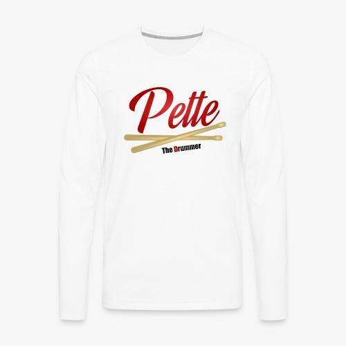 Pette the Drummer - Men's Premium Longsleeve Shirt
