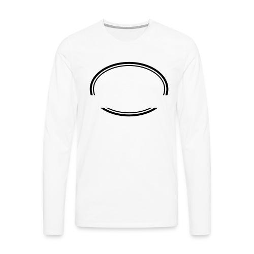 Kreis offen - Männer Premium Langarmshirt
