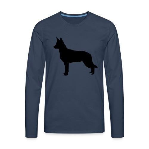 australiankelpie - Miesten premium pitkähihainen t-paita