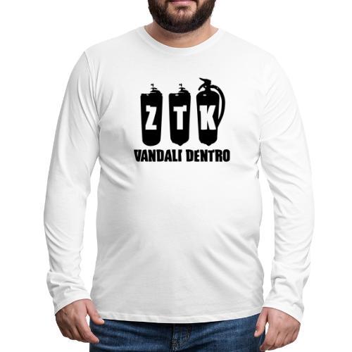 ZTK Vandali Dentro Morphing 1 - Men's Premium Longsleeve Shirt