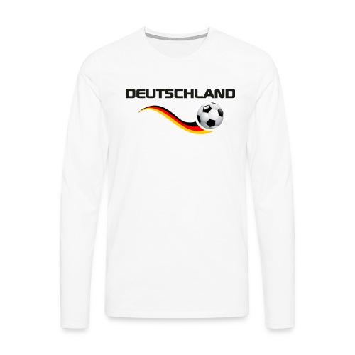 WM DEUTSCHLAND 1 - Männer Premium Langarmshirt