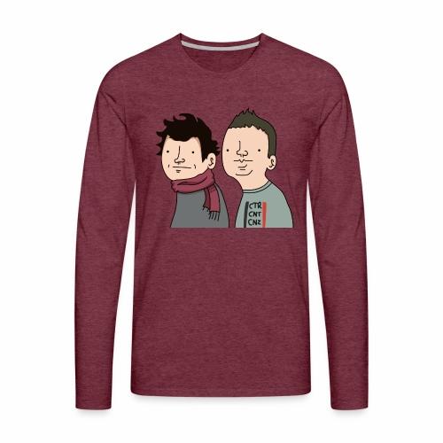 Laink et Terracid Wankuls - T-shirt manches longues Premium Homme
