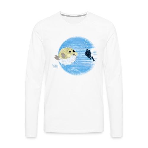 Puffer fish - T-shirts - T-shirt manches longues Premium Homme