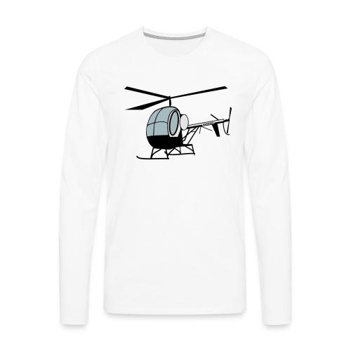 Hughes 300 - Männer Premium Langarmshirt