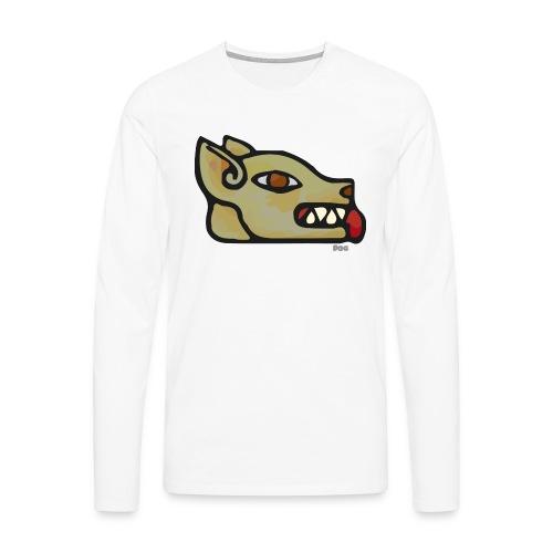 Aztec Icon Dog - Men's Premium Longsleeve Shirt