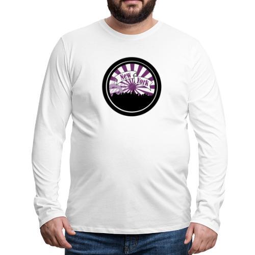 New York City - T-shirt manches longues Premium Homme