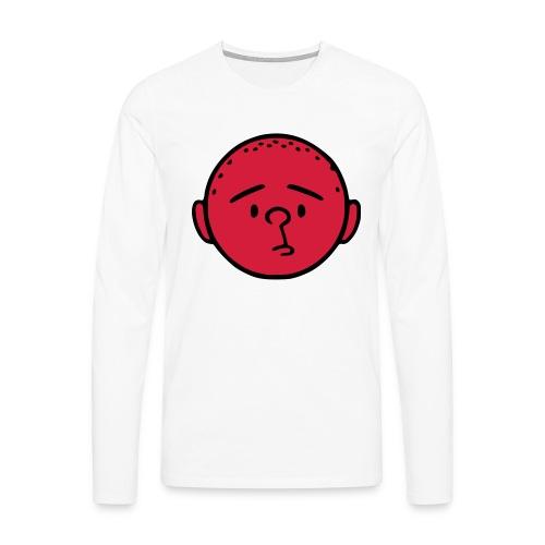 pilkstflcolor - Långärmad premium-T-shirt herr