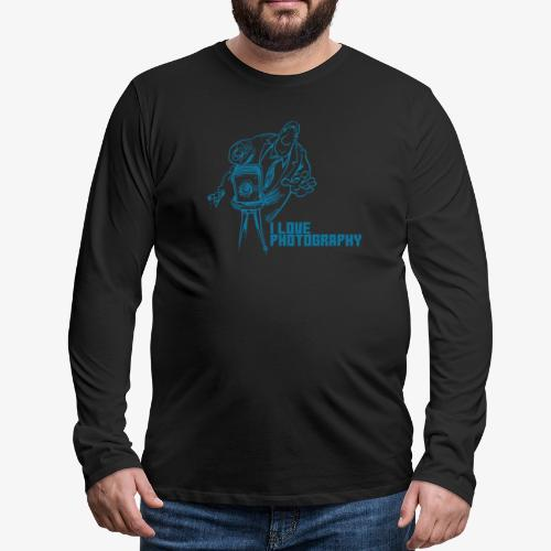 Photography - Camiseta de manga larga premium hombre