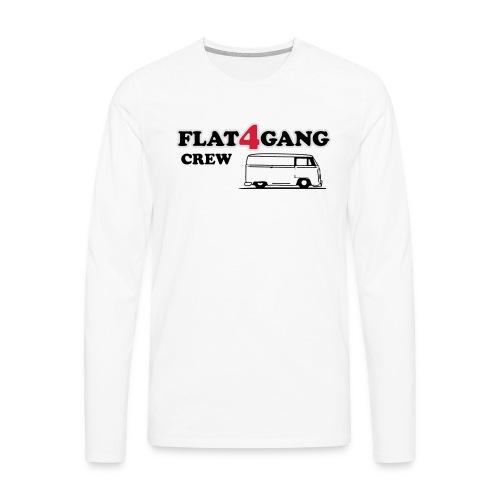 f4g crew - Mannen Premium shirt met lange mouwen