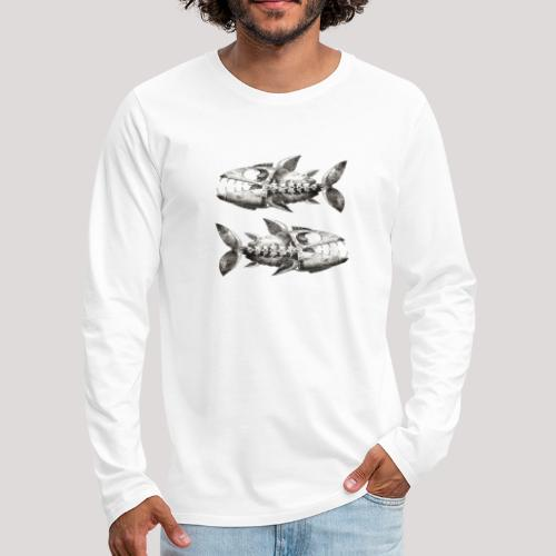 FishEtching - Men's Premium Longsleeve Shirt