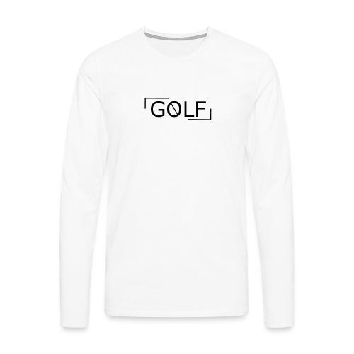 vague - T-shirt manches longues Premium Homme