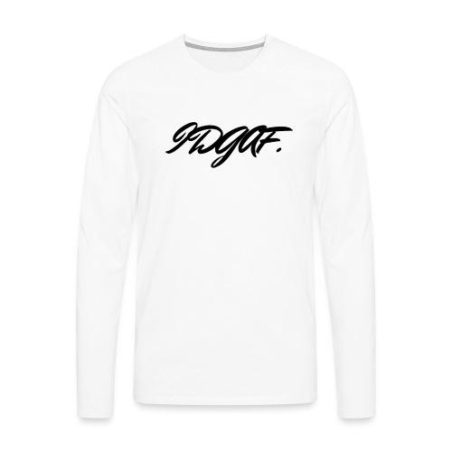 IDGAF - T-shirt manches longues Premium Homme