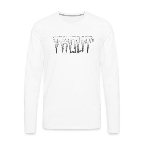 Horror PROUT - black - Men's Premium Longsleeve Shirt